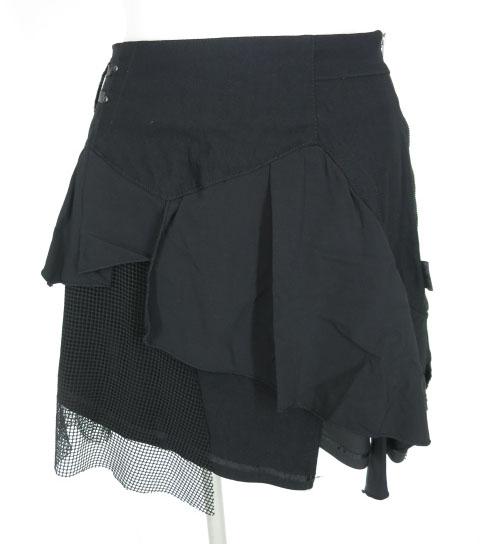 ozz conte ポケット付きアシンメトリースカート