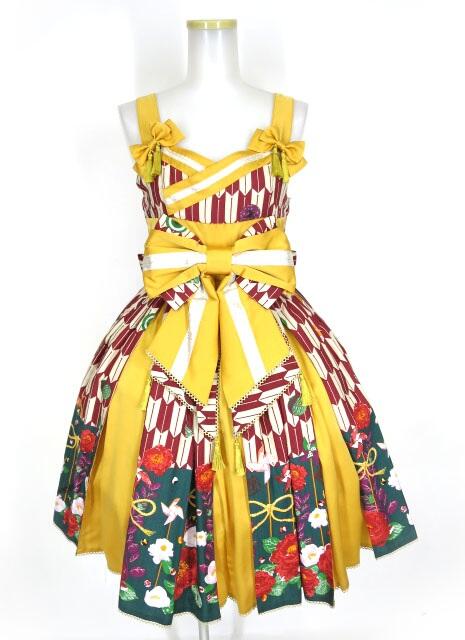 Metamorphose ハイカラ小町タックジャンパースカート