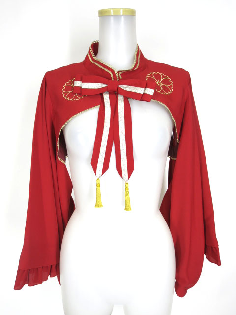 Metamorphose 乙女の着物袖ボレロ