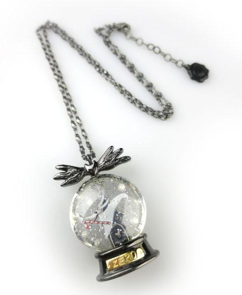 Q-pot.×Disney Zero/The Snow Dome Necklace