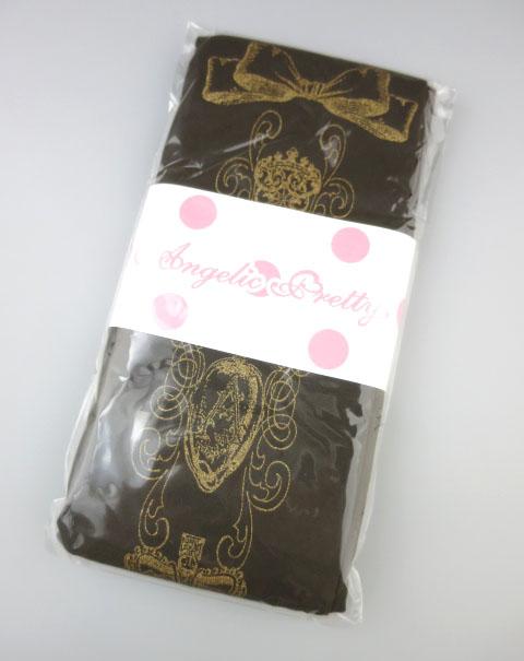 Angelic Pretty Royal Creamy Chocolate タイツ