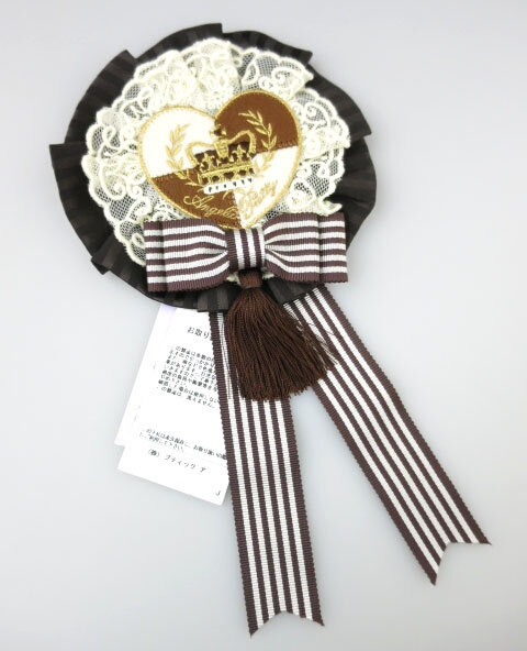 Angelic Pretty Queen Chocolateロゼッタブローチ