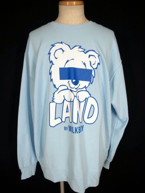 LAND by MILKBOY LAND BEAR スウェット