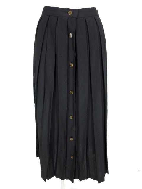 Jean Paul GAULTIER フロントボタンプリーツロングスカート