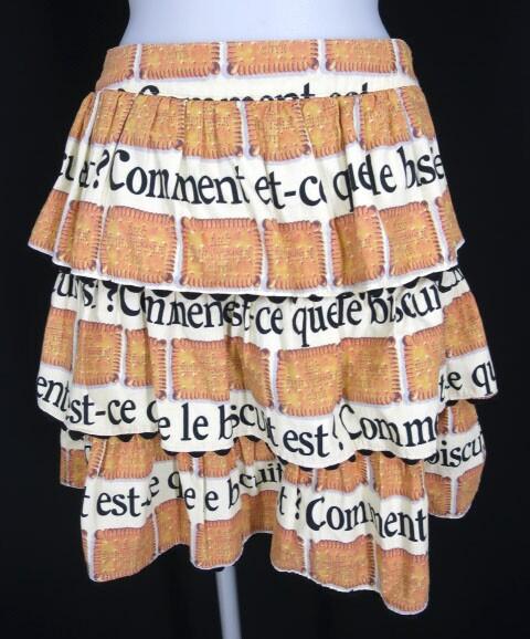 Emily Temple cute ビスケットプリントスカート
