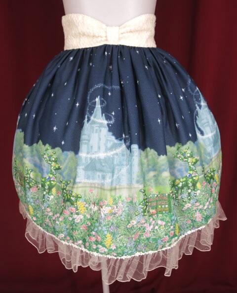 BABY, THE STARS SHINE BRIGHT Fairy Topialium ~Trifolium 仕立ての約束の森~柄 スカート