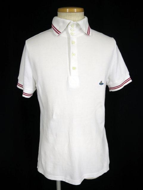 Vivienne Westwood MAN オーブ刺繍入りポロシャツ