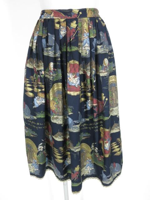 Jane Marple Glass AliceのWタックスカート
