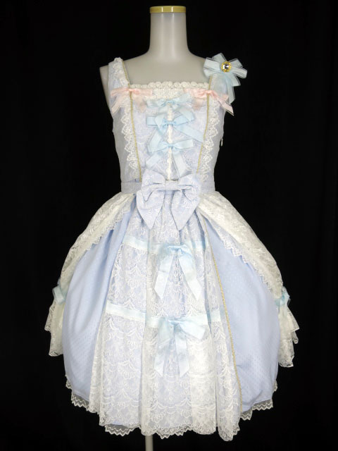 BABY, THE STARS SHINE BRIGHT Marie Antoinette lace ジャンパースカート