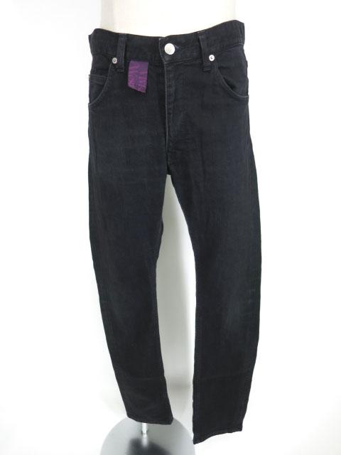 Vivienne Westwood MAN オーブ刺繍&ドットプリント入りスキニーデニムパンツ