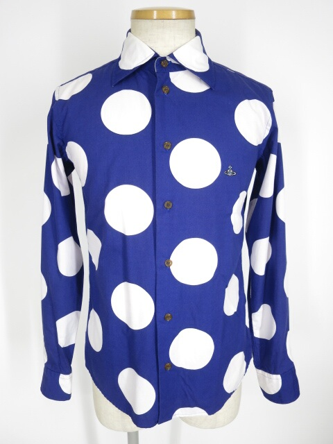 Vivienne Westwood MAN スポット柄シャツ