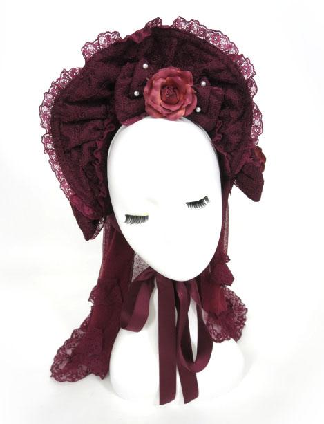 Metamorphose 薔薇の花嫁 ハーフボンネット