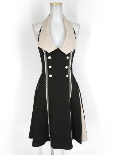 Innocent World ヘリンボン衿付きジャンパースカート