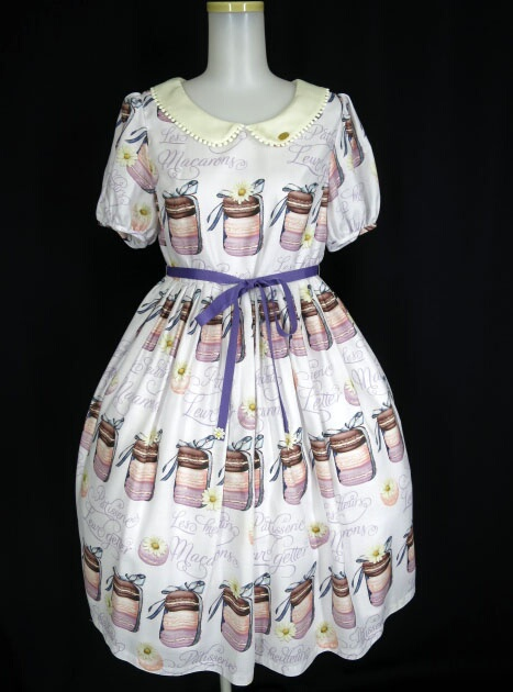 Leur Getter Daisy Macaron 袖付きワンピース