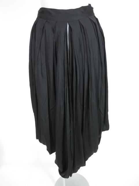 alice auaa プリーツ袴風ロングオーバースカート