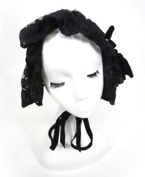 MARBLE ローズ付きヘッドドレス