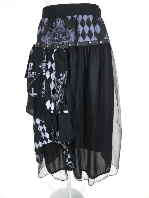 SEX POT GRIMM レイヤードスカート