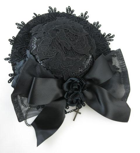 MR corset リボンミニハット