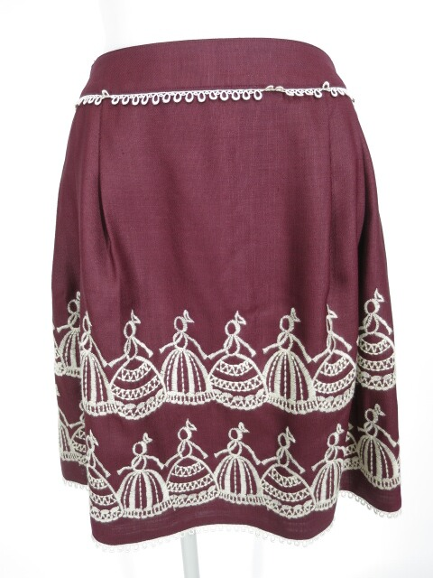 Jane Marple 刺繍スカート