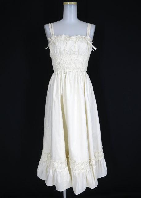 Victorian maiden リボンロングアンダードレス