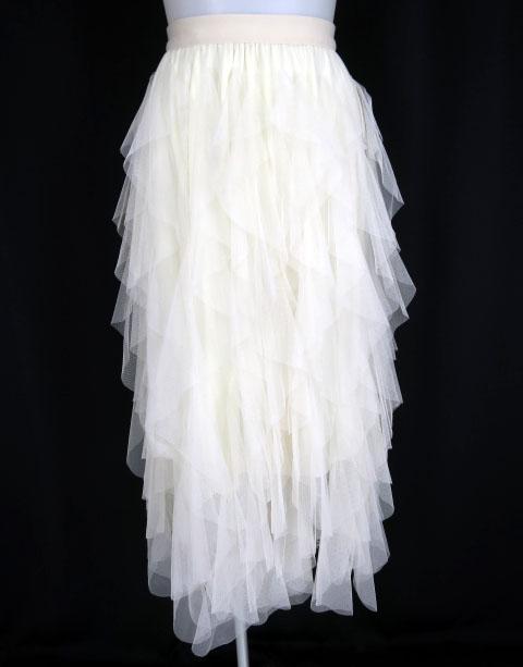 Rozen Kavalier ラッフルフリルチュールスカート