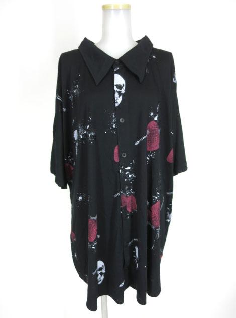 SEX POT ストロベリー半袖ビッグシャツ