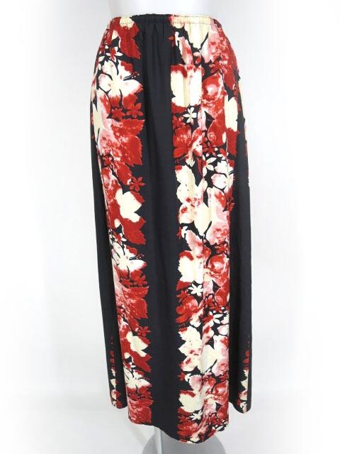Jean Paul GAULTIER FEMME 和柄ロングスカート