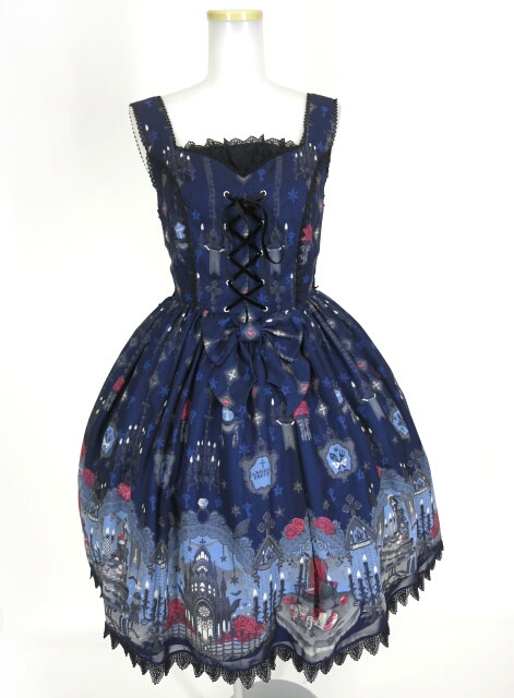 Angelic Pretty Ghost Night Brideジャンパースカート