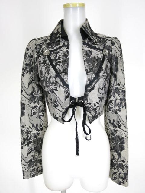 OZZ ONESTE ジャガード織りボレロジャケット