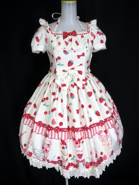 Angelic Pretty Strawberry Parlour ワンピース