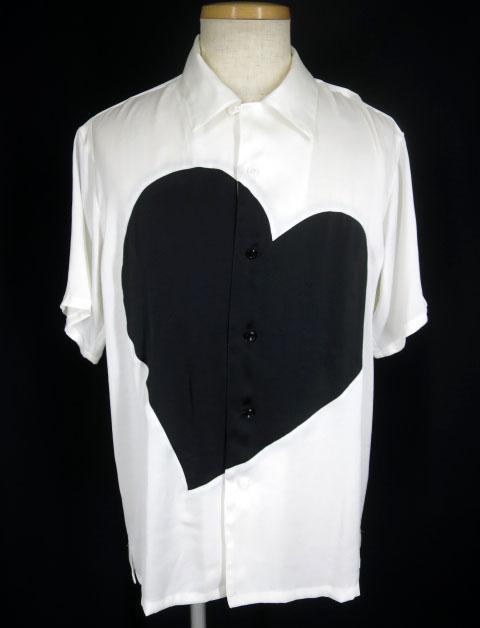 MILK BOY SILKY HEART シャツ