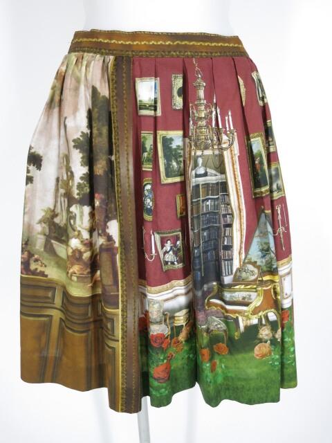 Jane Marple English Manor Houseのミニスカート