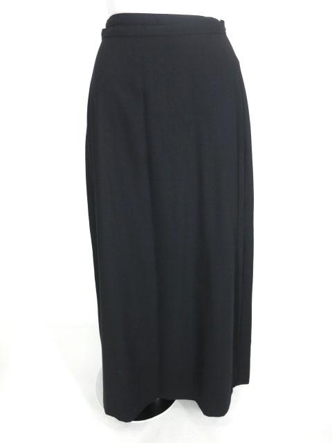 Moi-meme-Moitie プリーツロング巻きスカート