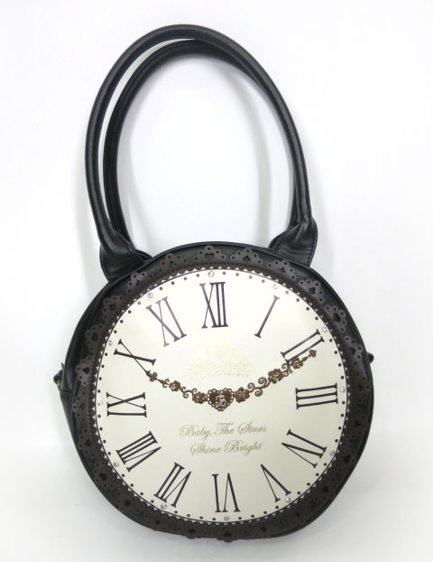 BABY, THE STARS SHINE BRIGHT アリスの大きな時計バッグ