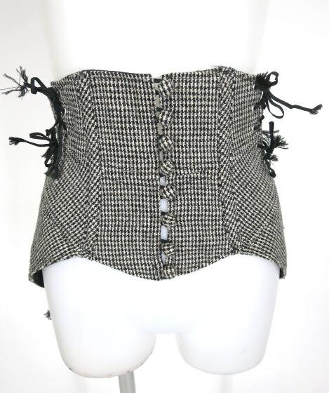 alice auaa ツイードコルセットオーバースカート