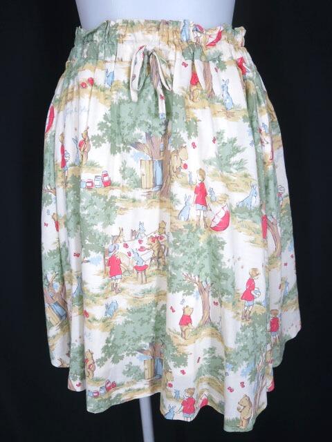 Jane Marple Winnie the poohのフレアースカート