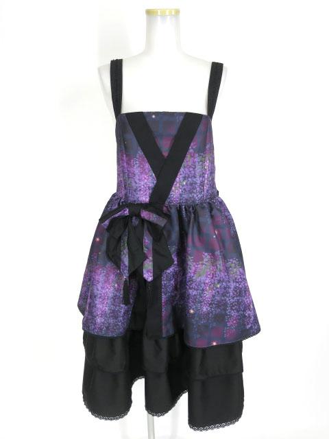 gouk雅 藤の花ジャンパースカート
