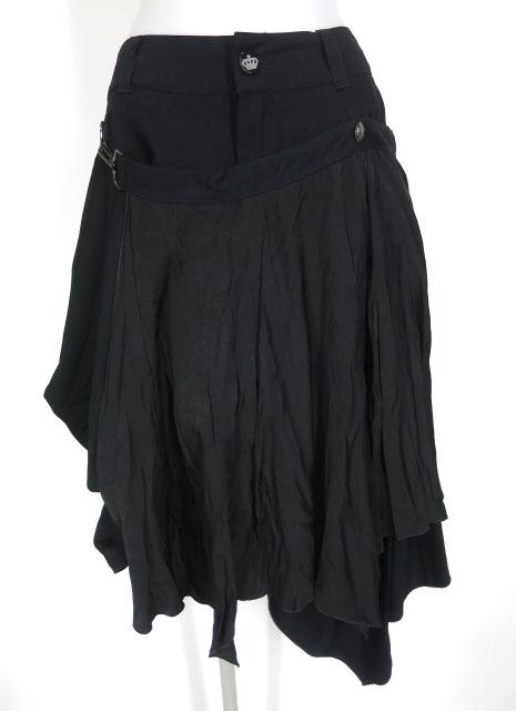 ALGONQUINS フレアーフラップ付きミディアムヘムスカート
