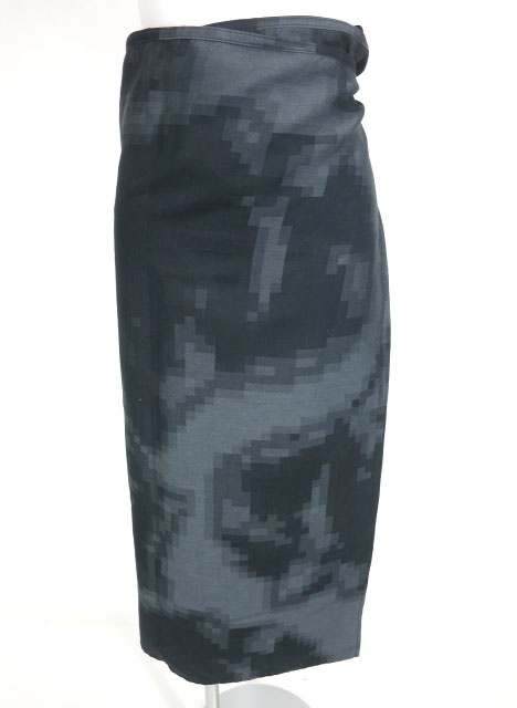 Jean Paul GAULTIER FEMME モザイク柄巻きスカート