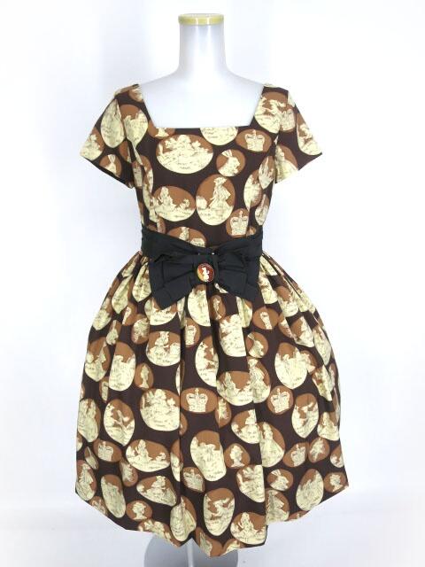 Jane Marple フェアリーテイルカメオのミニドレス