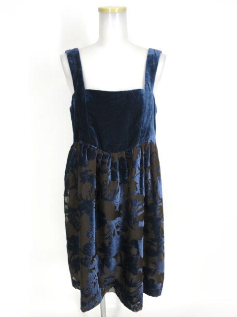 Jane Marple ベルベットオパールアリスのジャンパースカート