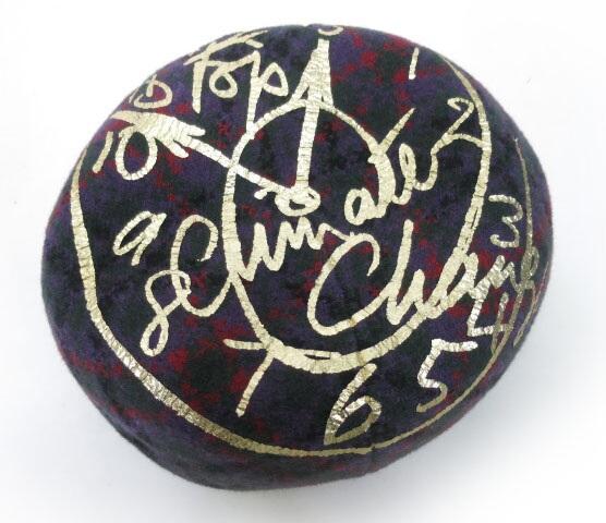 Vivienne Westwood クロックチェックバスクベレー帽