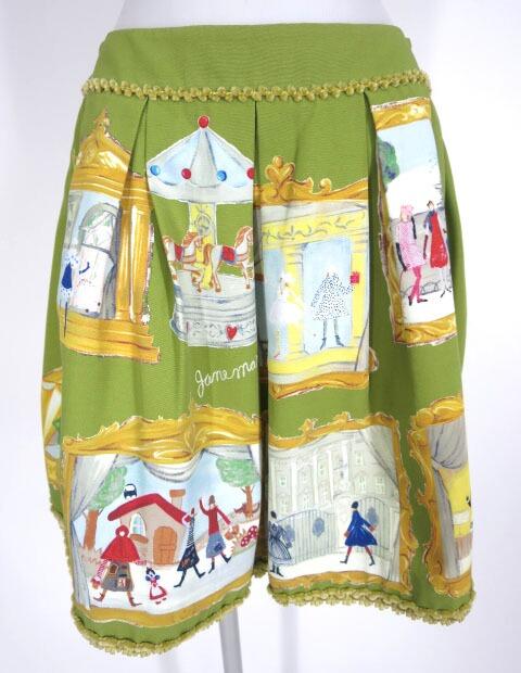 Jane Marple 20thアニバーサリープリントスカート