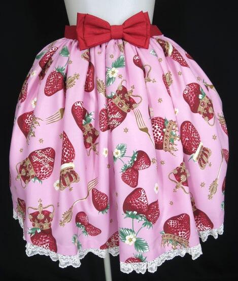 Angelic Pretty Royal Crown Berryスカート