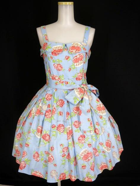 Jane Marple ローズクラウンミニドレス