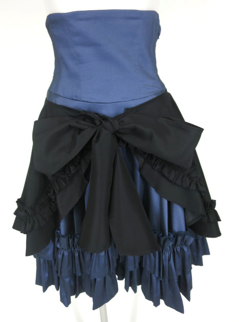LAPIN AGILL エプロン付きスカート