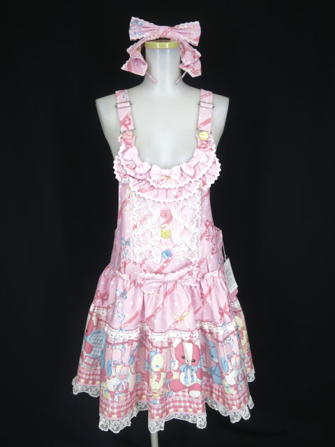 Angelic Pretty MELODY TOYSサロペット&カチューシャ