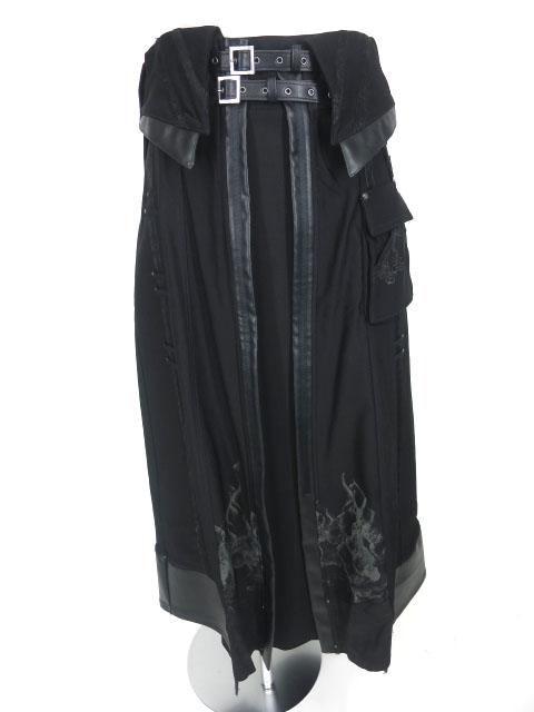 ozz conte レイヤードロングスカート