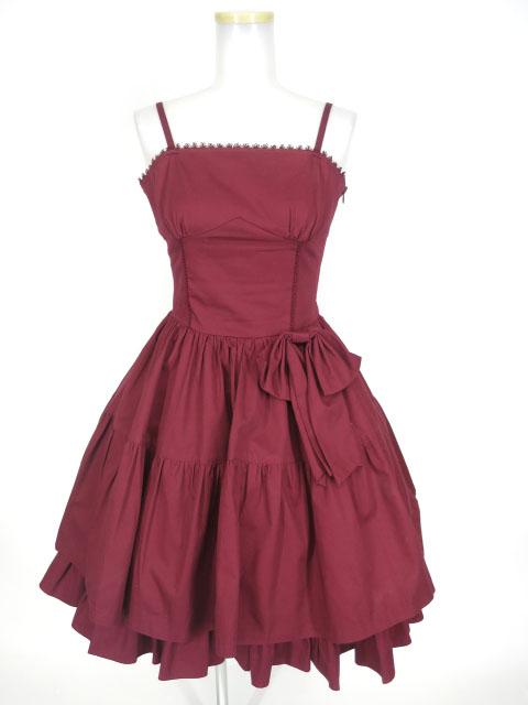 Victorian maiden ロイヤルフリルビスチェドレス