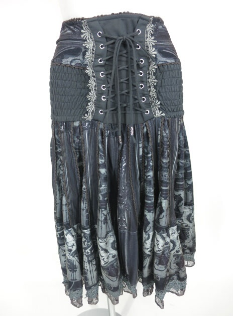 OZZ ANGELO 礼拝堂柄2wayスカート